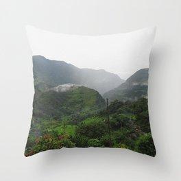 Himilayan Fog Throw Pillow