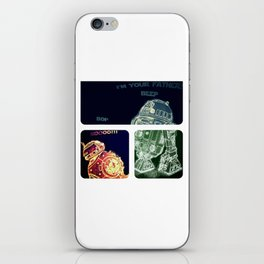 R2D2 AND BB8 FORCE COLORS iPhone Skin