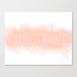 Hoplessly In Love Canvas Print