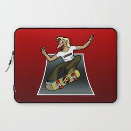 Pat The Skateboard Cat Laptop Sleeve