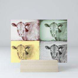 Here's Looking at Moo Mini Art Print