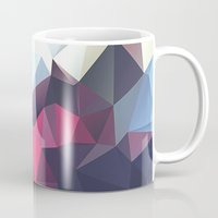 wwe Mugs featuring Polygonal by eARTh
