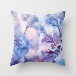 Winter fairy tale II Throw Pillow