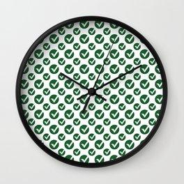 Vertcoin (Vtc)  - Amazing Crypto Fashion Art (Small) Wall Clock