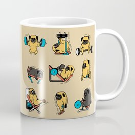Pug Leg Day Coffee Mug