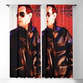 Falco in Doorway Blackout Curtain