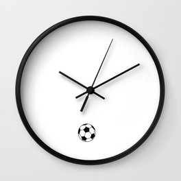Don't Mess with Me I'm Trained to Kick Balls T-Shirt Wall Clock