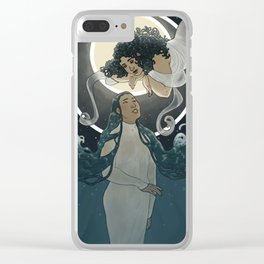 Tides Clear iPhone Case