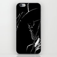 django iPhone & iPod Skins featuring Django by JessicaBader