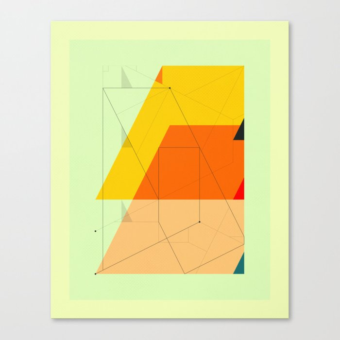 DELINEATION (104) Canvas Print