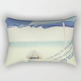 Just Relax Rectangular Pillow