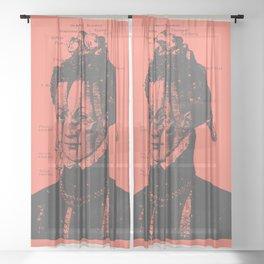 The Widow Sheer Curtain