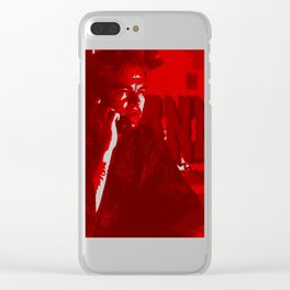 Minimalistic Once Upon Clear iPhone Case