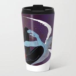 Red-Shoed Angel Travel Mug