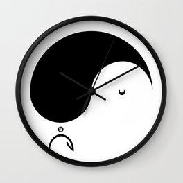 Yule Yang #2 Wall Clock