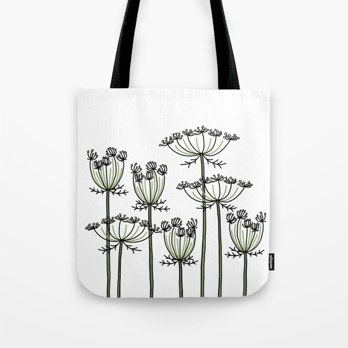 wild carrots Tote Bag
