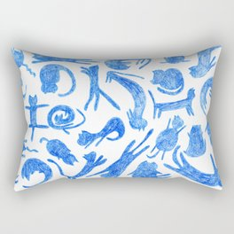cats pattern Rectangular Pillow