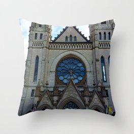 Gesu Throw Pillow