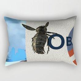 Fly:Hey OK Rectangular Pillow
