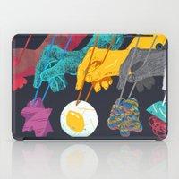 ramen iPad Cases featuring Top Ramen by Nick Iluzada