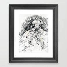 John Martyn Framed Art Print