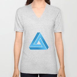 Impossible Triangle Unisex V-Neck
