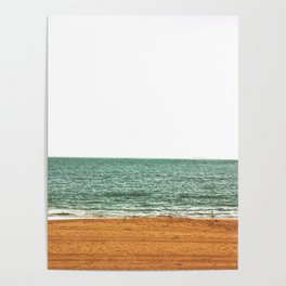 down by the sea - seaside - artprint Poster