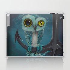 BLue Octowl Laptop & iPad Skin