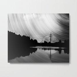 Nature lake in swabia Metal Print