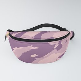 Colorful Marble Modern Light Rose Color Fanny Pack