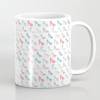 heels Mugs featuring Cute Heels by Mayleemouse