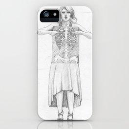 Exposure, pencil illustration iPhone Case