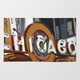 Historic Chicago Theater Rug