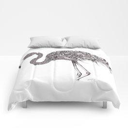 Zentangle Flamingo Comforters