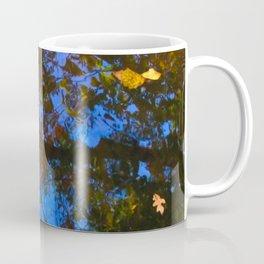 Rippled Water and Leaves 3 Coffee Mug