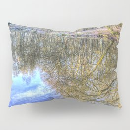 Peaceful Pond Reflections  Pillow Sham