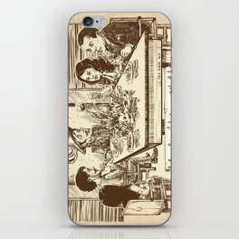 We're all cannibals here iPhone Skin