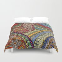 explore Duvet Covers featuring Explore by Meredith Bub