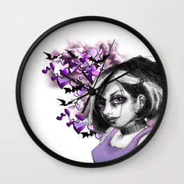 Z imagination The Goth Wall Clock