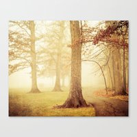 eddie vedder Canvas Prints featuring I Heard Whispering in the Woods by Olivia Joy StClaire