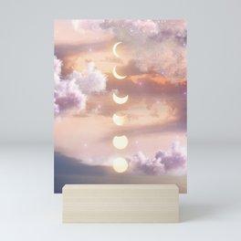 The Sea and the Moon Mini Art Print