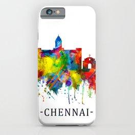 Chennai Tamil Nadu Skyline iPhone Case