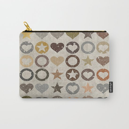 stars and hearts Carry-All Pouch