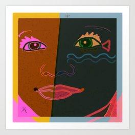 Miayade Art Print