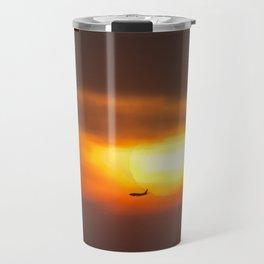 Into the Sunset. Travel Mug