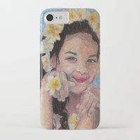 child iPhone & iPod Cases featuring child by Caterina Zamai