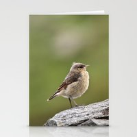 sparrow Stationery Cards featuring Sparrow by Distilled Designs