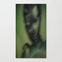 The Green Angel Canvas Print