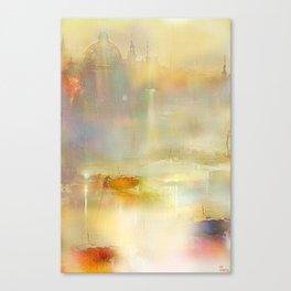 Mist on the Thames Canvas Print