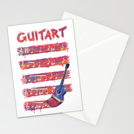 GuitArt Stationery Cards